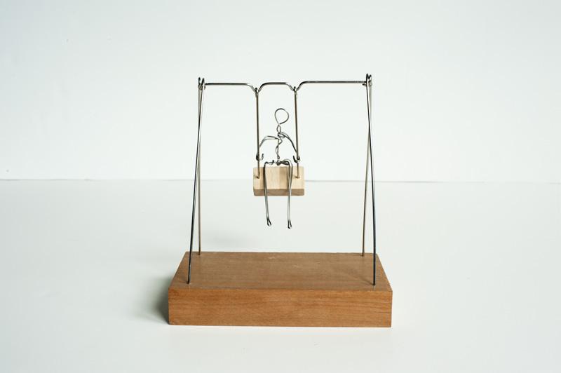 Made by joel toy swing set for Mini swing set