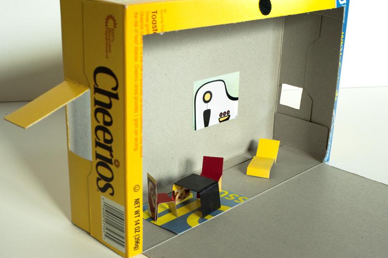 Made by joel final cheerios box craft dollhouse save ccuart Choice Image