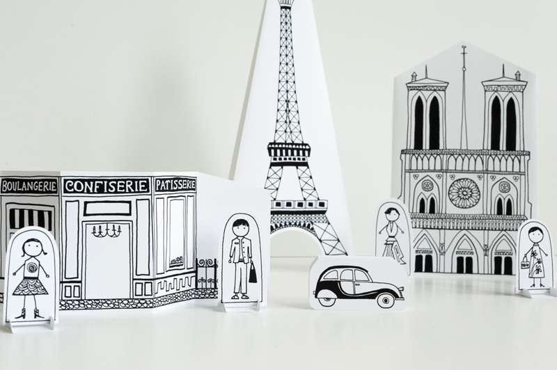 Made by Joel » Paper City Paris!