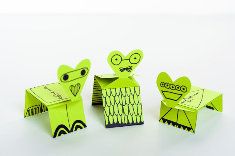 Made by Joel » Valentine\'s Card Creatures | Kids Craft Printable