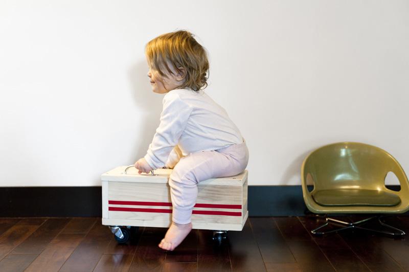 子供用の乗り物