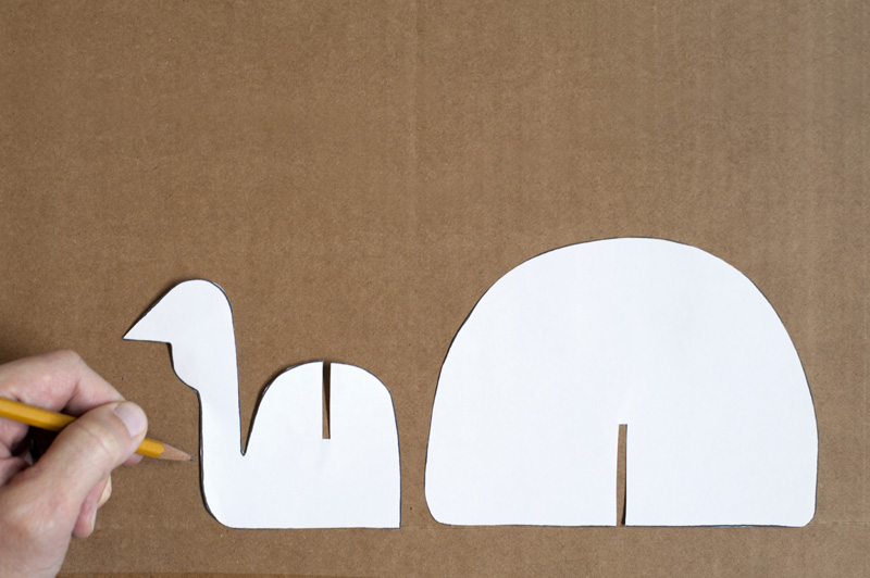 Made by joel » diy thanksgiving cardboard turkey craft
