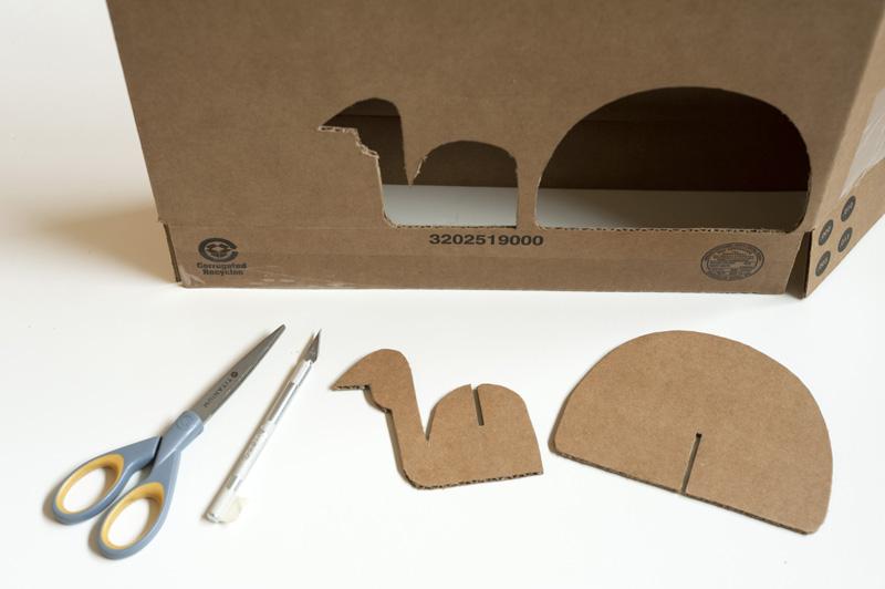 Made By Joel Diy Thanksgiving Cardboard Turkey Craft