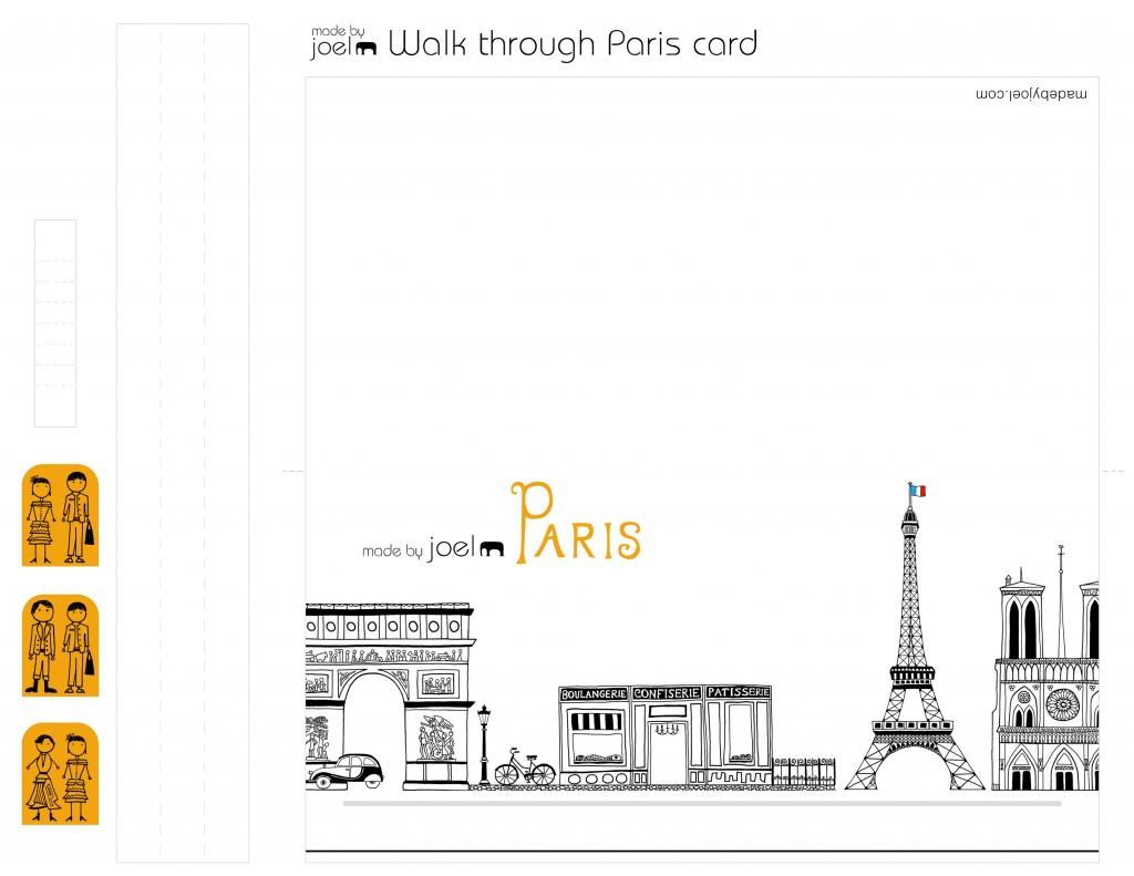 DIY Animated Walkthrough Paris Card for Valentine's Day Craft