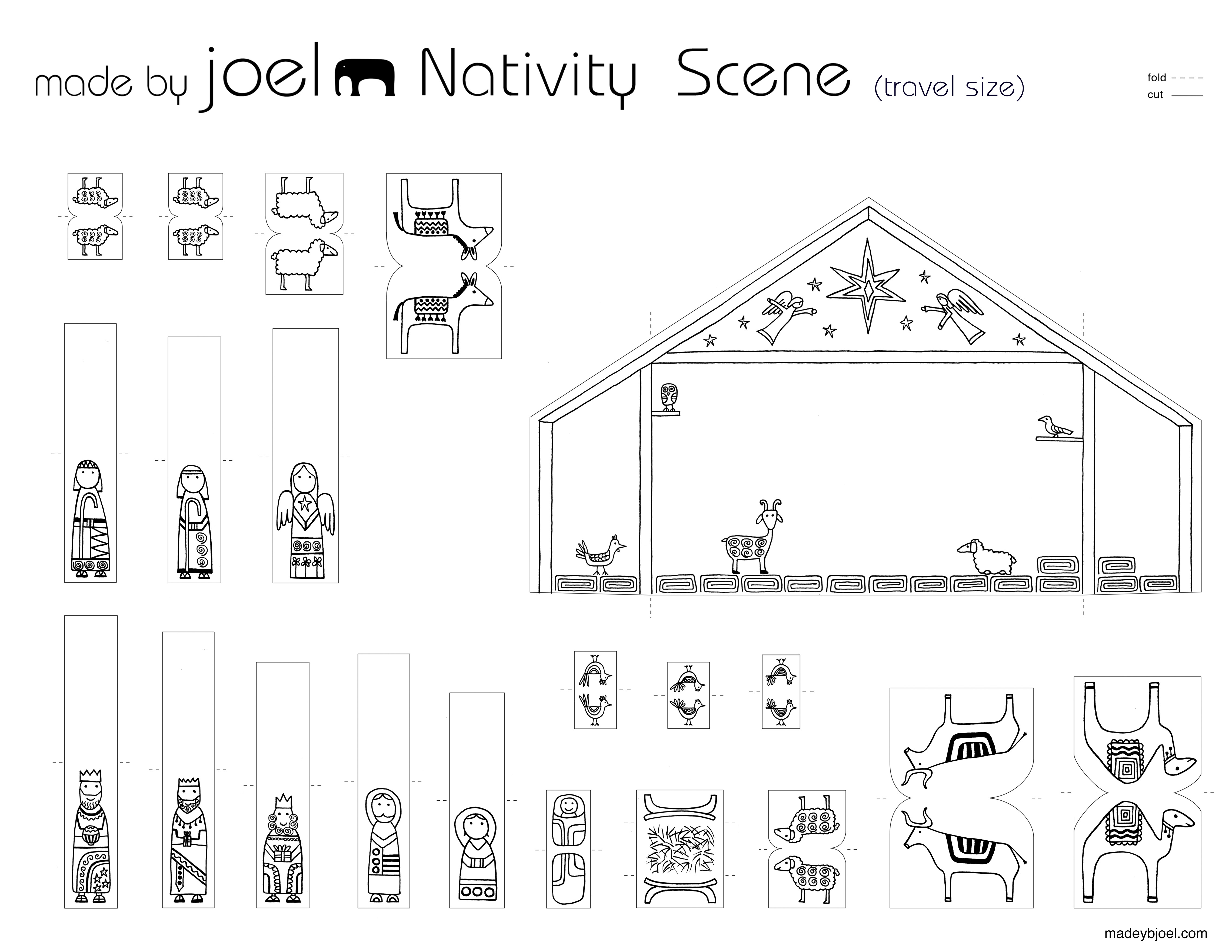 template for nativity scene new calendar template site