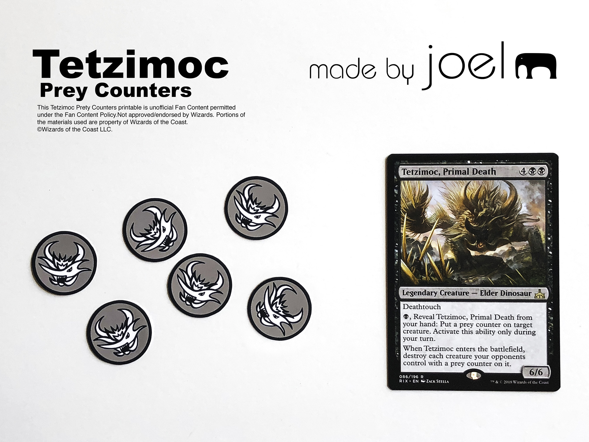 photo about Magic the Gathering Printable called Built through Joel » Crafts for More mature Youngsters Homemade Magic The
